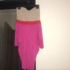ASOS Colour Block Jersey midi dress size 8
